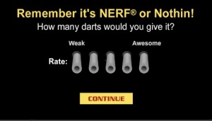 NERF or Nothin'!